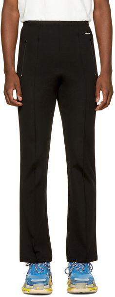 BALENCIAGA Black Slim Track Pants. #balenciaga #cloth #pants