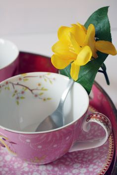 Love the cup and saucer!