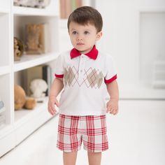 Cotton Baby Shorts | Dave Bella Kids Clothes