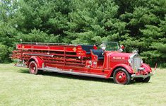 Ex- Blairsville, Pennsylvania 1937 American LaFrance 500 GPM - Quad # L.872 Steve Hagy photo.  This photo was taken at the COAFAA 2008 muster which was held at the Ohio Fire Academy in Reynoldsburg.  Don't let the lettering for Hilliard that is on the hood fool you, this piece is originally from Blairsville!  The family that owns this quad lives in Hilliard..