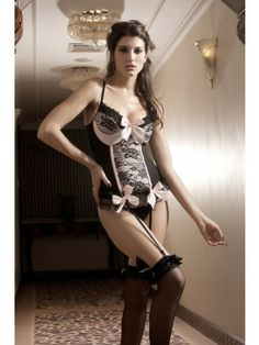 Sexy Padded Cup Underwire Bustier Hot Black  $20.99 http://www.lingeriespassion.com/lingerie/camisoles-cami-sets/sexy-padded-cup-underwire-bustier-hot-black-1059.html