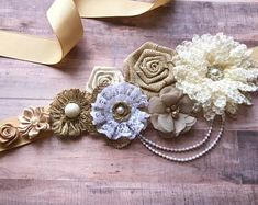 Blue, Brown and Ivory Boy Maternity Sash Cowboy Baby Shower Sash Maternity Flower Girl Baby Shower Dress Accessory Photo Prop, Dress Sash Lace Baby Shower, Cowboy Baby Shower, Baby Boy Shower, Azul Real, Maternity Belt, Baby Shawer, Elephant Baby, Blue Brown, Shower Ideas