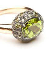 Pomellato Peridot Tabou Ring from Amanda Pinson Jewelry on Taigan