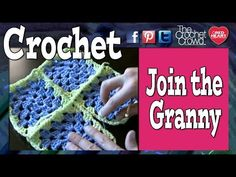 For more Free Patterns and Free Ideas, check out http://www.allfreecrochet.com In this tutorial, it is lesson 1 of 3 methods on how to attach granny squares ...