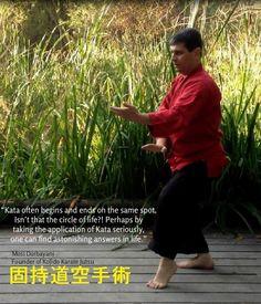 Soke Mosi Dorbayani, Founder of Kojido, Karate-Jutsu