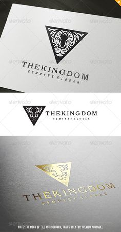 The Kingdom Logo #GraphicRiver The Kingdom – Logo Template This logo design for creative company. Logo Template Features AI and EPS 300PPI CMYK 100% Scalable Vector Files Easy to edit color / text Ready to print Font information at the help file If you buy and like this logo, please remember to rate it. Thanks! Created: 9April13 GraphicsFilesIncluded: VectorEPS #AIIllustrator Layered: No MinimumAdobeCSVersion: CS Resolution: Resizable Tags:
