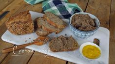 Creton végé | Cuisine futée, parents pressés Vegetarian Pate, Vegetarian Recipes, Cooking Recipes, Healthy Recipes, Healthy Food, Quebec, Plat Vegan, Cuisine Diverse, Finger Food Appetizers
