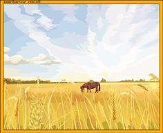 05. Viaţa la ţară Moose Art, Animals, Painting, Google, Animaux, Animales, Painting Art, Paint, Draw