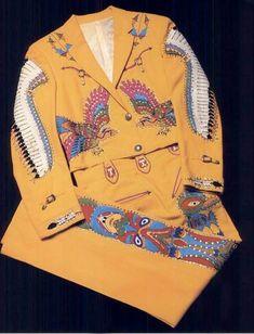One of Hank Snow's Nudie Suits.