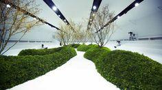 Dior Couture runway set design