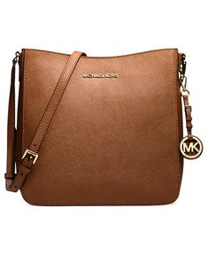 My Mothers Day Gift? In Fuschia... Please.....MICHAEL Michael Kors Jet Set Travel Large Saffiano Messenger Bag