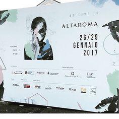Ready to start!  Day 1 #Altaroma dal 26 al 29 gennaio a #Roma #fashionhub #atelier #intown