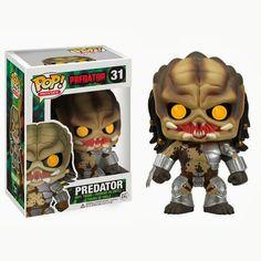 Toh Querendo: Figura Pop! Predador Funko