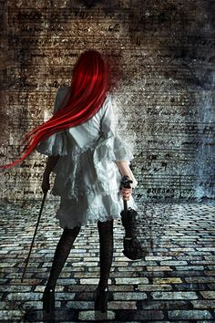 Violinist with Red Hair Violin Music, Art Music, Violin Instrument, Red Hair Pictures, Beautiful Paintings, Online Art Gallery, Dark Art, Good Music, Photography Poses