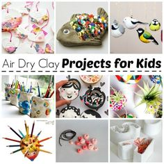 Air Dry Clay Projects for Kids