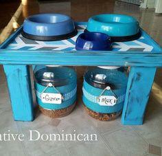 Quick & Easy DIY Pet Feeding Station!