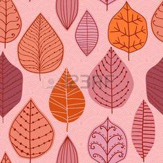 hojas de otoño dibujo: ratser patrón sin fisuras con la hoja, de la hoja de antecedentes vautumn