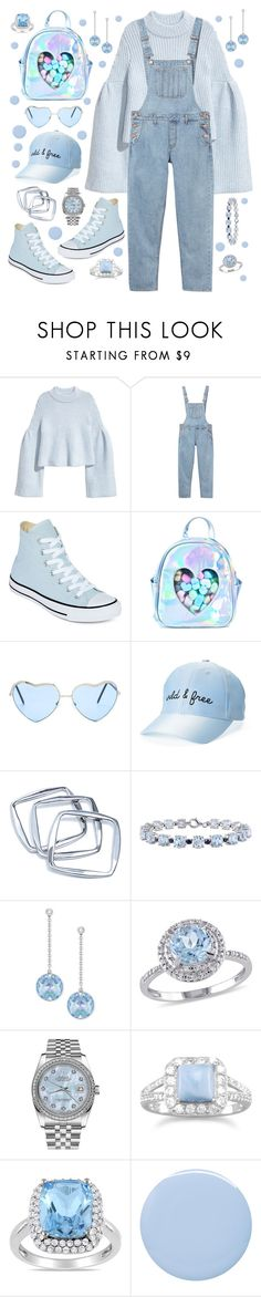 """Untitled #688"" by alex-vujanovic ❤ liked on Polyvore featuring H&M, Monki, Converse, Sugarbaby, GUESS by Marciano, Miadora, Swarovski, Modern Bride, Rolex and BillyTheTree"