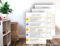 Η μέθοδος των 5 βημάτων στην Οργάνωση Σπιτιού + Εκτυπώσιμο Organization, Organizing, Canning, How To Make, Home, Getting Organized, Organisation, Ad Home, Tejidos