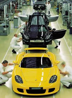 (Porsche Carrera GT Production)