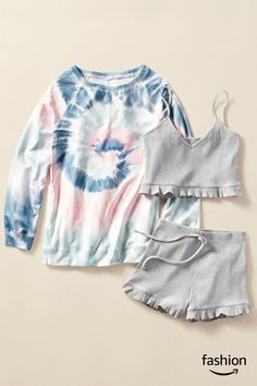 Really Cute Outfits, Cute Lazy Outfits, Trendy Summer Outfits, Simple Outfits, Cool Outfits, Tween Fashion, Girls Fashion Clothes, Teen Fashion Outfits, Cute Fashion