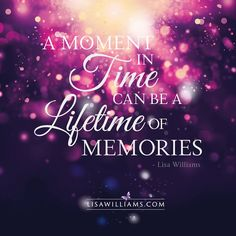 A moment in time...