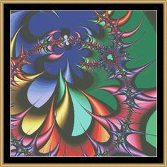 Fractal Series - Limited Edition [FRACTAL-030] - $16.00 : Mystic Stitch Inc, The fine art of counted cross stitch patterns