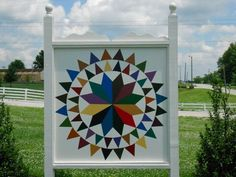 quilt trail, The Owen County Quilt Trail Farmer's Delight