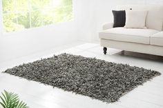 Shag Rug, Rugs, Grey, Design, France, Vintage, Home Decor, Products, Dining Table