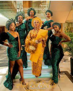 When a Yoruba Gentleman Marries his Igbo Princess Ogochukwu and Abiodun s Lovely Wedding Klala Photography African Bridesmaid Dresses, African Wedding Attire, Bridesmaid Outfit, African Print Dresses, African Print Wedding Dress, African Fashion Skirts, Skirt Fashion, Nigerian Wedding Dresses Traditional, Traditional Wedding Attire