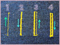 How to sew big button holes with the automatic foot that only sews small buttons. buttonholesteps by Liam's Mummy, via Flickr