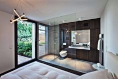 Awesome master bedroom ensuite bathroom open plan bathroom bedroom design ideas