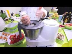 We came across this interesting multi-function kitchen machine at IFA The has 13 functions and it also incorporates the Yumi control module with . Kitchen Machine, Cotton Candy, Kitchen Appliances, Cooking, Youtube, Meal, Bebe, Cotton Candy Favors, Cooking Utensils