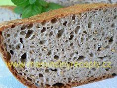 Pohankový chleba z Kroměříže Raw Cake, Banana Bread, Food And Drink, Desserts, Bulgur, Tailgate Desserts, Deserts, Postres, Dessert