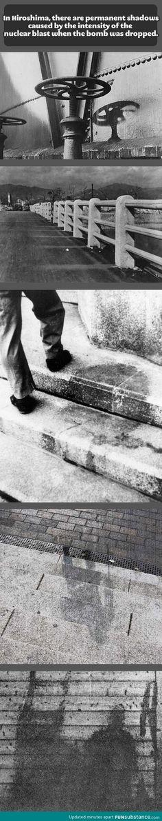 Hiroshima's nuclear shadows O.O