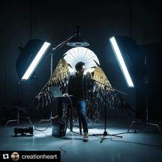 Behind the scenes by @creationheart : Some studio love. @profotoglobal @profotousa @rodemic @broncolor @canon.nz @famousbtsmagazine @iso1200magazine @tethertools #bts #famousbtsmag #lighting #studiolife #studio #strobist #wings #portrait #profoto #profotobts #broncolor #selfportrait #auckland #newzealand #canon #nz