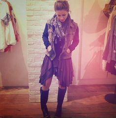 Knit Hooded Twill Jacket style pic on Free People