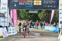 Clàudia Galicia y Francesc Guerra ganan la primera Catalunya Bike Race.