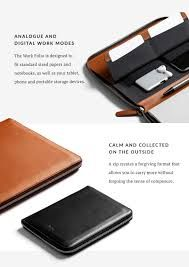 Image result for bellroy work folio a5
