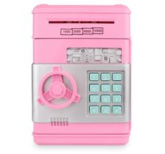 Electronic ATM Piggy Bank For Children - United States / Pink