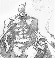 Batman and Robin by Greg Capullo *