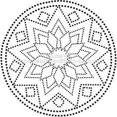 Discover thousands of images about mandala - abstract - mandala Dot Art Painting, Mandala Painting, Mandala Drawing, Ceramic Painting, Painting Patterns, Stone Painting, Mandala Dots, Mandala Pattern, Pattern Art