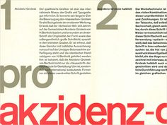 Display   Berthold Akzidenz Grotesk Type Speciman   Collection