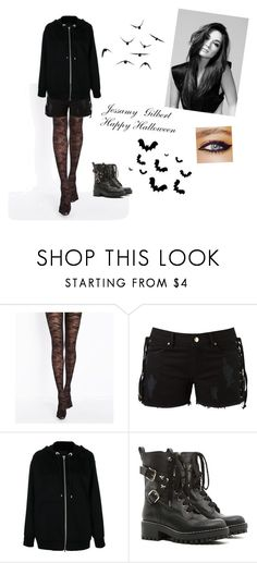 """""""Halloween dance - Jessamy Gilbert-"""" by amber-lee-bambi-bonnar on Polyvore featuring Amapô, Alexander Wang, RED Valentino and GALA"""