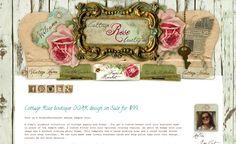 Cottage Rose boutique design
