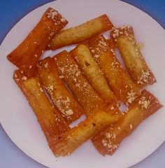 Cypriot Food, Confectionery, Baking Recipes, Bacon, Sweets, Breakfast, Desserts, Cooking Recipes, Morning Coffee