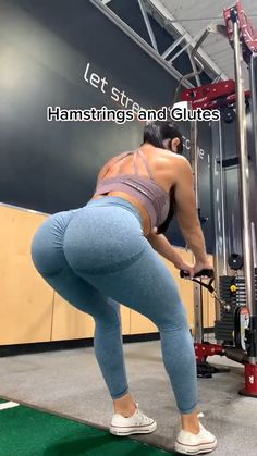 Leg And Glute Workout, Buttocks Workout, Slim Waist Workout, Gym Workout Videos, Gym Workout For Beginners, Fitness Workout For Women, Body Fitness, Fitness Goals, Fitness Tips