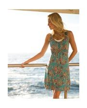 Sophia Spiral Floral Dress from Fat Face