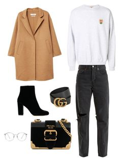 Shopping at Time Square Mall Polyvore Fashion, Mall, Times Square, Prada, Gucci, Shoe Bag, Clothing, Stuff To Buy, Shopping