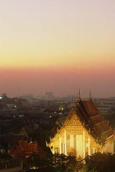 Bangkok, Wat Saket Temple